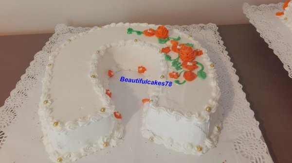 Gâteau antillais en forme de fer à cheval