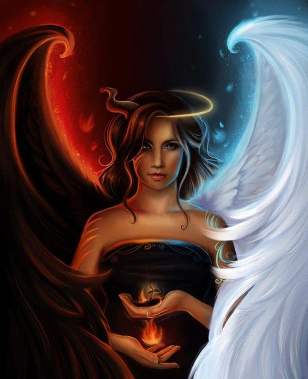 Ange ou démon?? Qui suis je.!!!!!!!!!!