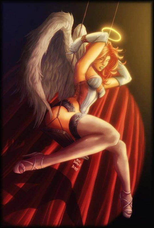 ANge ou démon ;) a vous de choisir lol