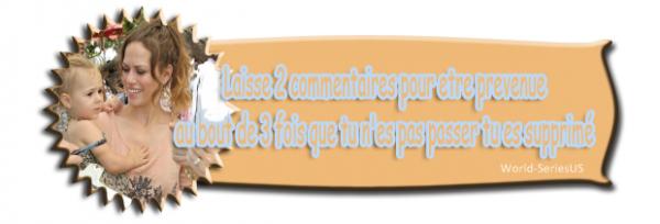 Article # •Animaux •Applications •Autres •Beauté•Cours •Cuisine •DIY • Films •Livres •Mode •Musique •Séries •Tags • Newsletterson World-SeriesUS Montage•