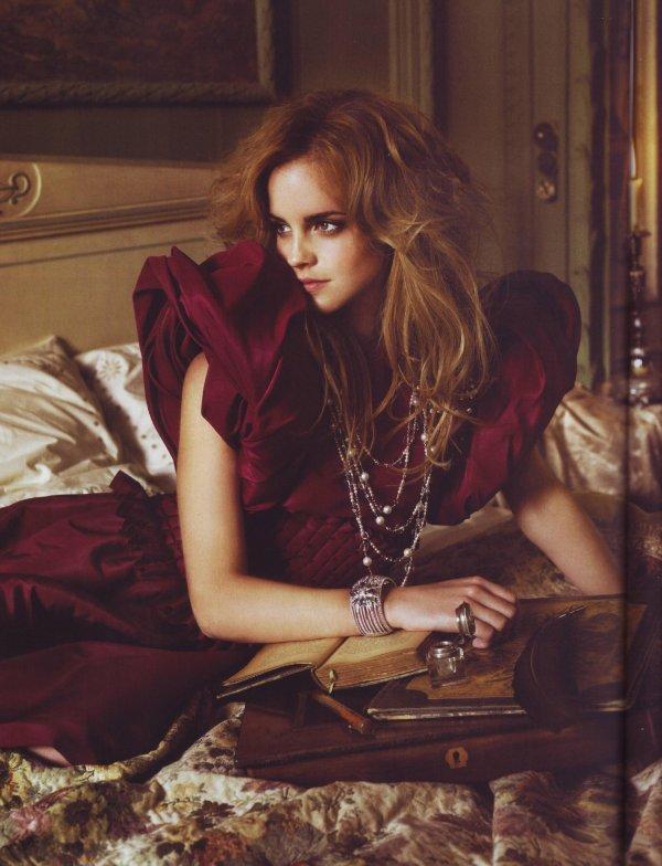 Shooting emma watson <3 Vogue
