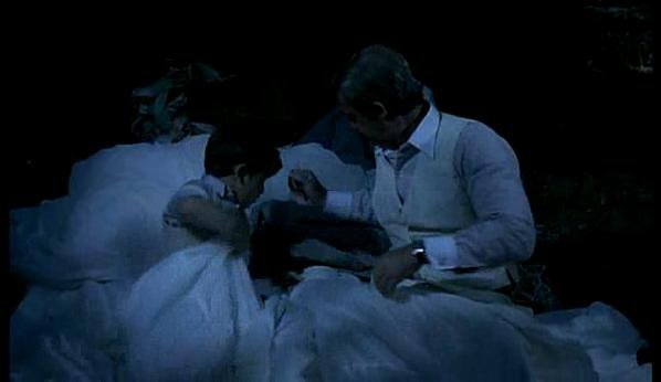 l as des as simon (Rachid Ferrache) et jo cavalier (jean paul belmondo)