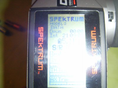 Mon SAVAGE XL passer en 2.4Ghz spectrum avec telemétrie