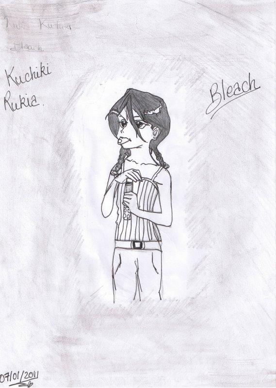 Dessin Rukia Kuchiki (1 & 2)