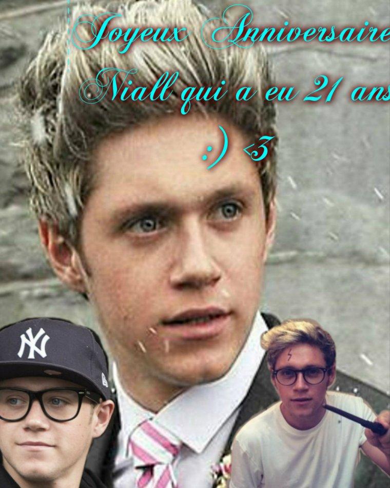Joyeuse Anniversaire à Niall Horan <3 Like Rendu
