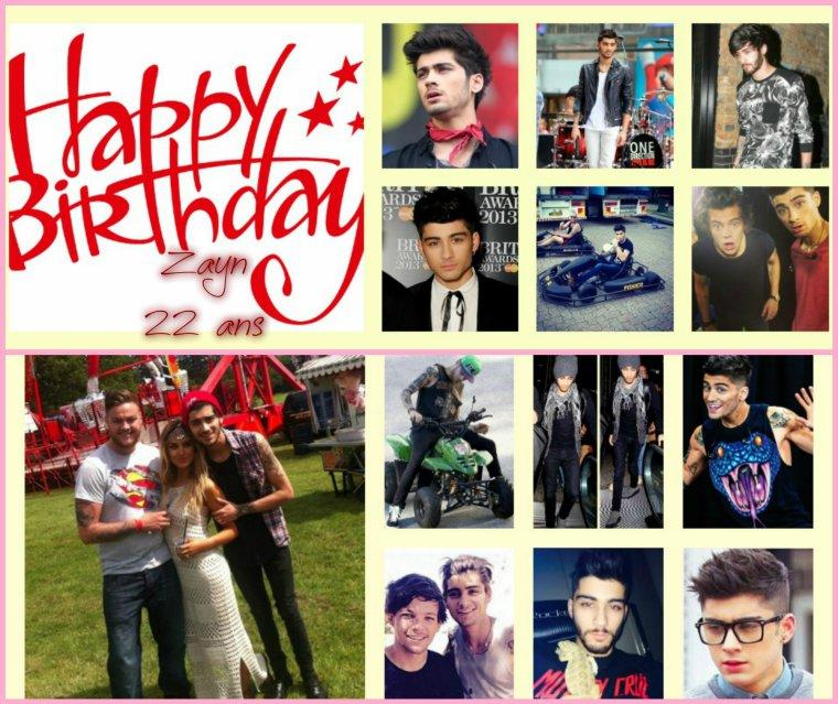 Happy Birthday Zayn <3