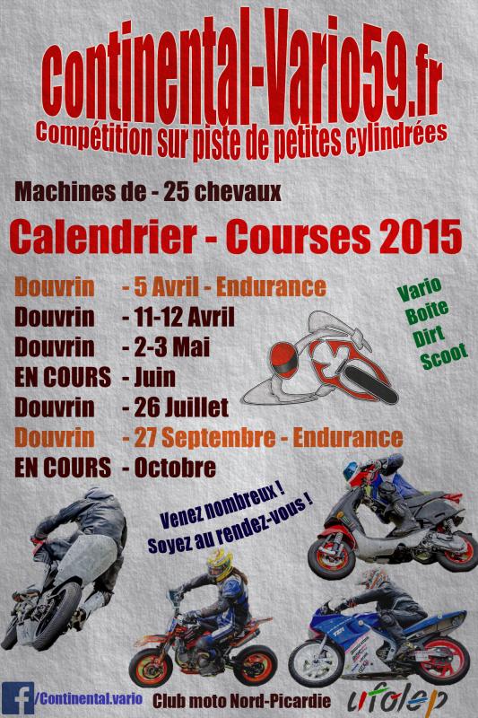 calendrier cv 2015
