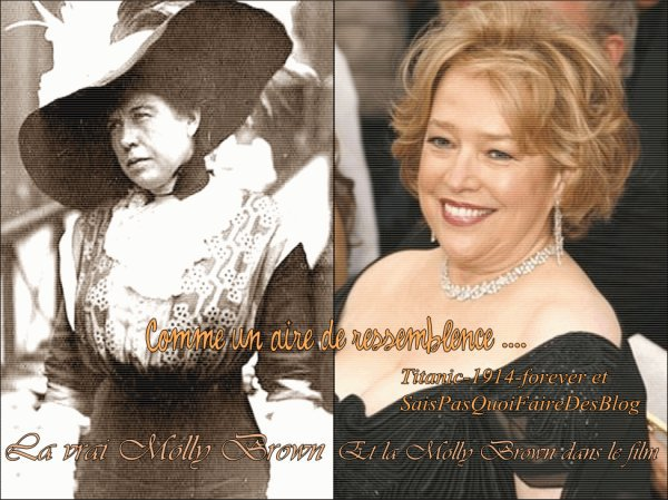 "Titanic-1914-Forever & SaisPasQuoiFaireDeSeBlog Parle de "" L' insubmersible Molly Brown """