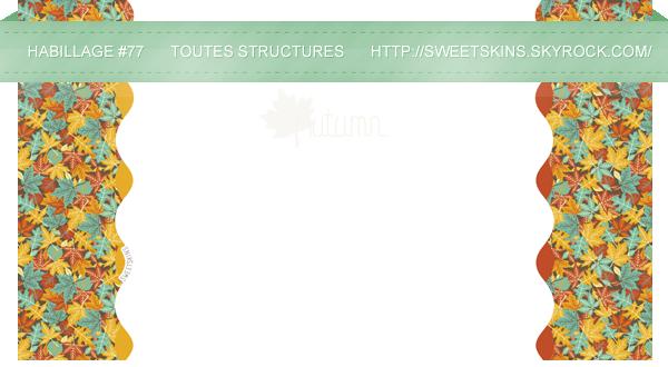 *♦◊ Groupe d'habillage 11 - SPÉCIAL AUTOMNE & HALLOWEEN