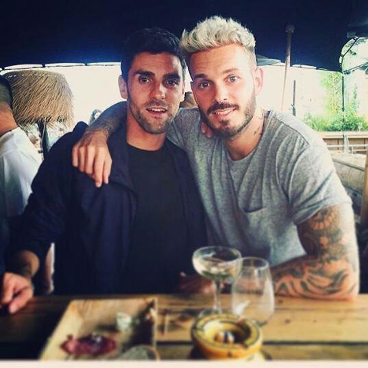 Matt avec son ami