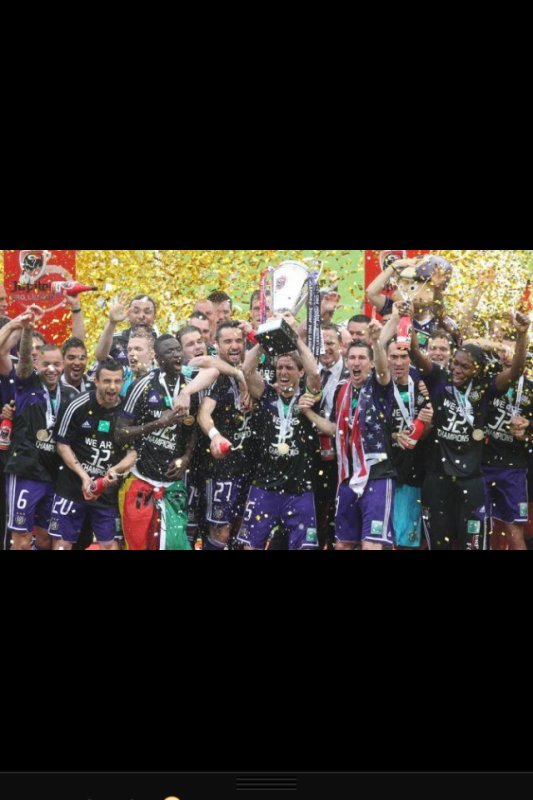 We are Anderlecht <3 32x champions :D