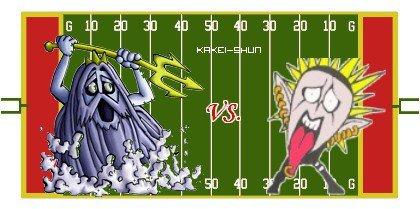 Chapitre III : Kyoshin Poseidons vs Sankaku Punks !