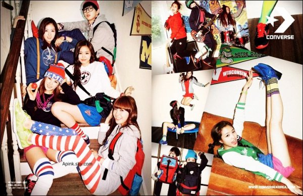 "- APINK ""Fairy Dolls"" !  APink Selcas & Converse Korea  -"