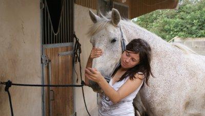 ♥...L'equitation, un amour d'enfance...♥
