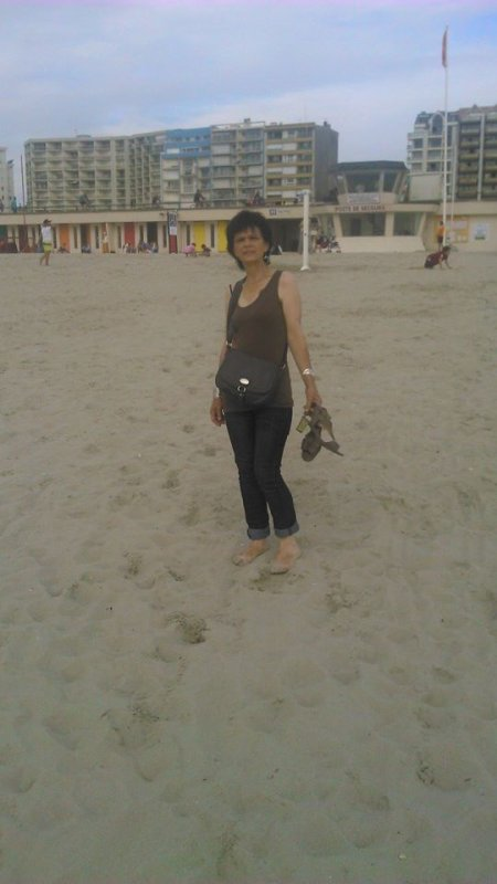 encore moi toujour cool a la plage