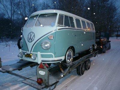 le bus est à la maison