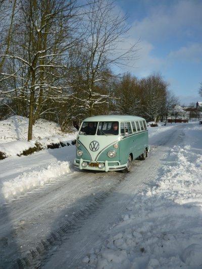 petite sortie sur la neige