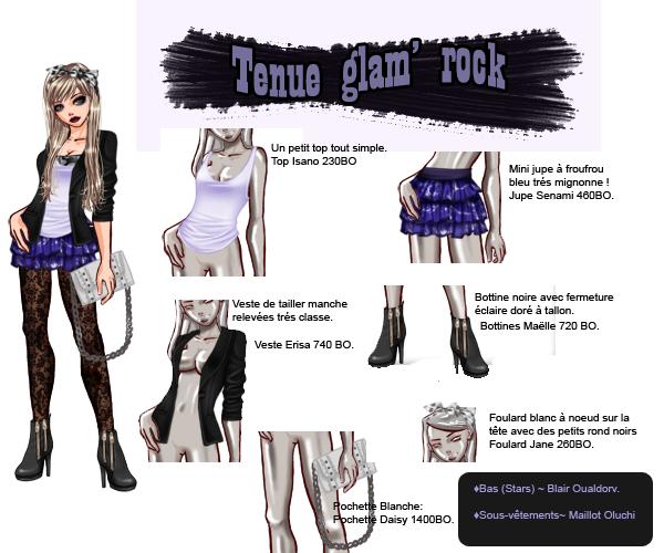 Tenu Glam' Rock