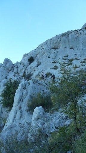 Rando st Baume circuit des 8 et grottes   Sylvaine