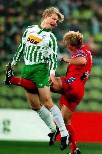 Et oui le foot est dangereux ......mdr