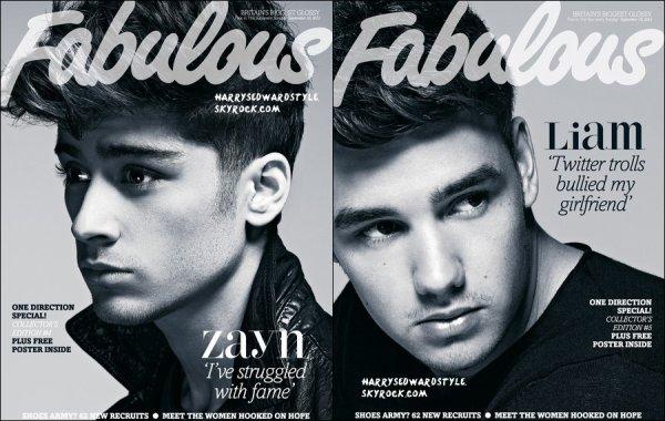 ++     Harry Styles et nos boys font la couverture de Fabulous magazine + Découvre une photo d'Harry Styles pour l'album Take Me Home + Harry Styles posant avec des fans hier soir dans les rues de Londre . +