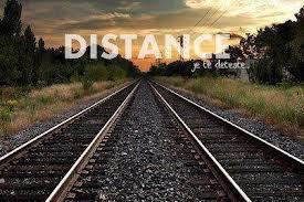 Cette distance.