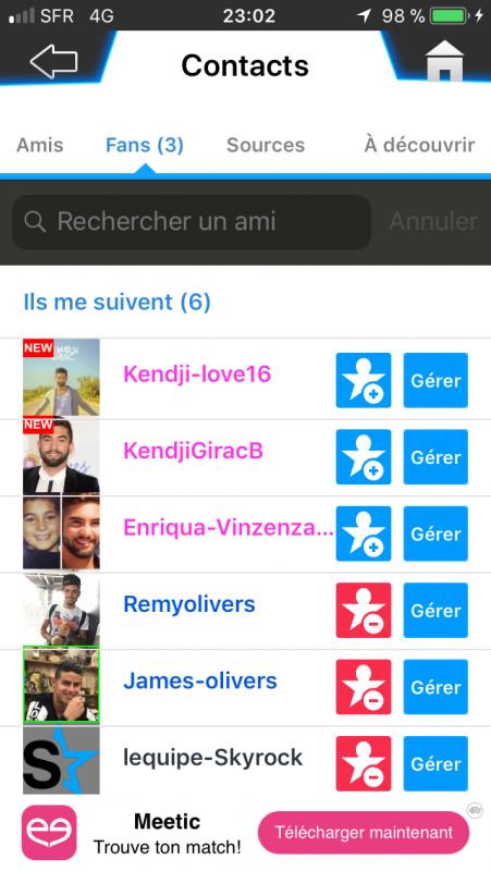 Y'a quand même des gens qui aiment Kendeji...