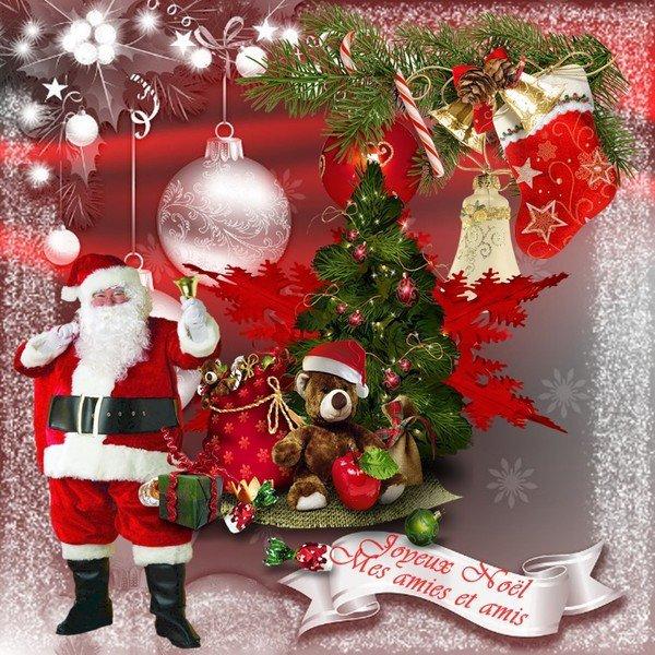Joyeux Noël a tous mes amis!