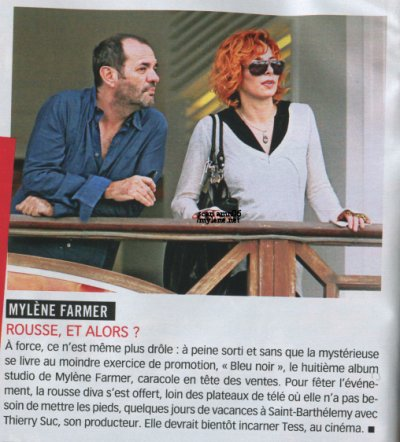 article de présse Mylene farmer 2010
