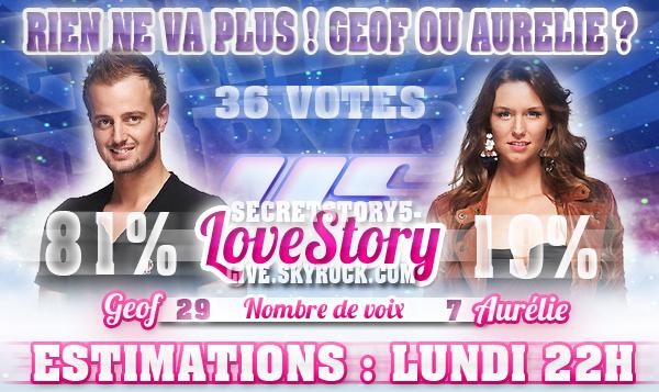 SONDAGE : Aurélie ou Geof ?