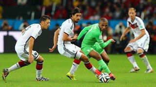Tres bon match de l'Algérie qui a mis en difficulté la redoutable équipe d'Allemagne.