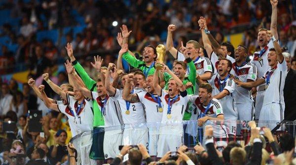 l'Allemagne championne du monde 2014