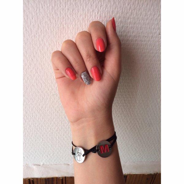 Nouveau nail art, simple et pailletés 💅🏻