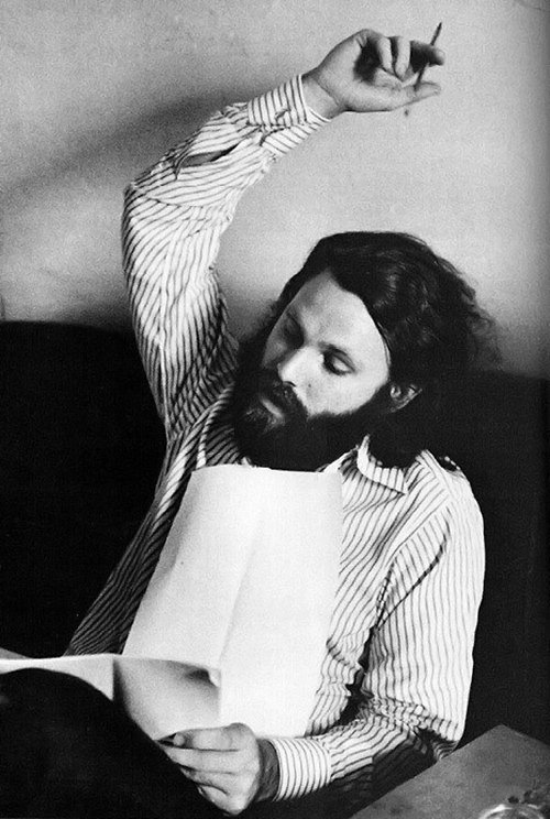 """My great joy is to give form to reality. Music is a great release, a great enjoyment to me. Eventually I'd like to write something of great importance. That's my ambition—to write something worthwhile."" – Jim Morrison"