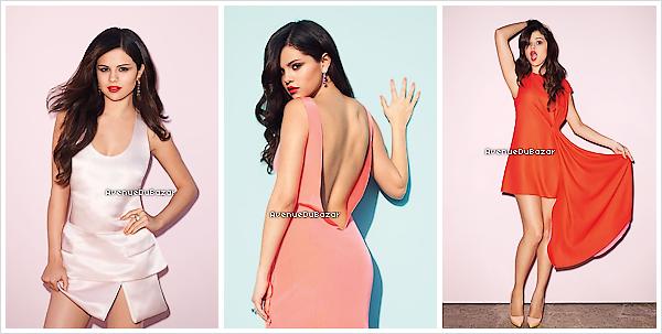 .Selena Gomez pour le magazine Bazaar ♥.