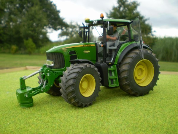 Modification du John deere 6930 Wiking en 7530