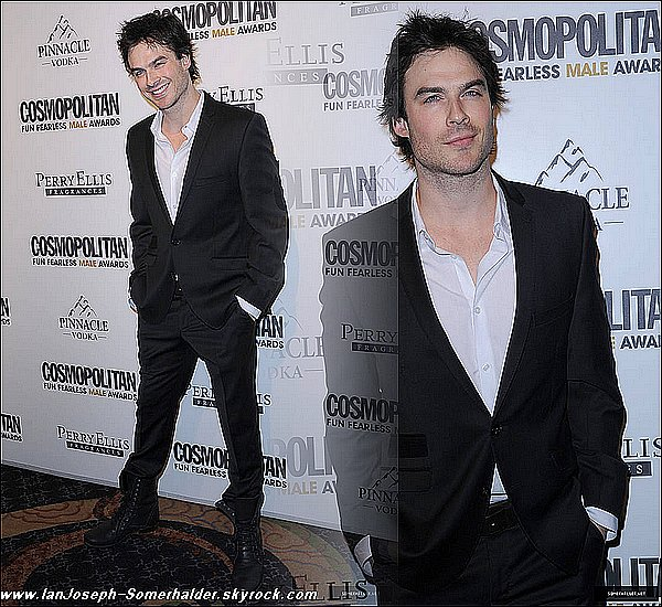 """lanJoseph-Somerhalder"" , ta nouvelle source sur l'interprete de Damon Salvatore"