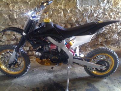Ma Dirt Bike 125 Tuning Zic Filles Sen Oublie Me Pote Et Ma