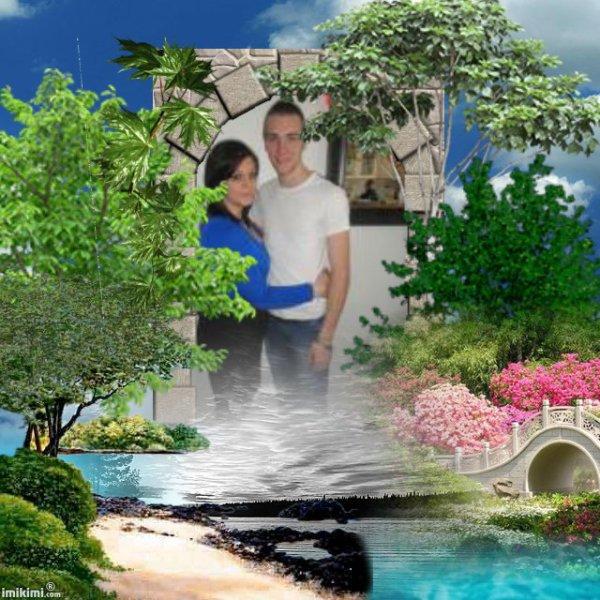 mon petit fils et sa copinne