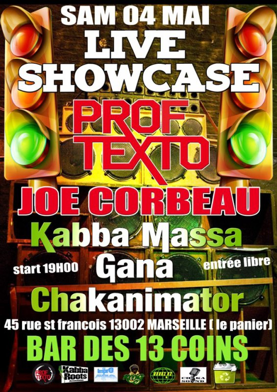 Prof Texto en Showcase !!!