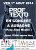 Prof Texto en Concert !