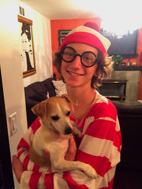 Steele Stebbins et son magnifique chien (1/2)