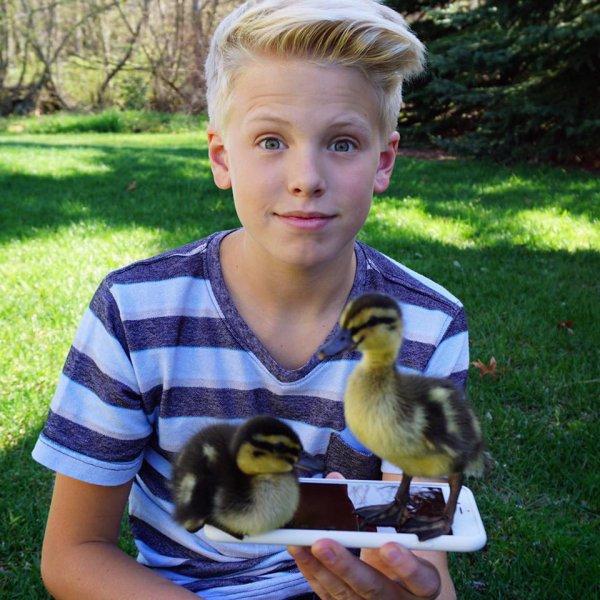 Carson Lueders et ses canards (2/3)