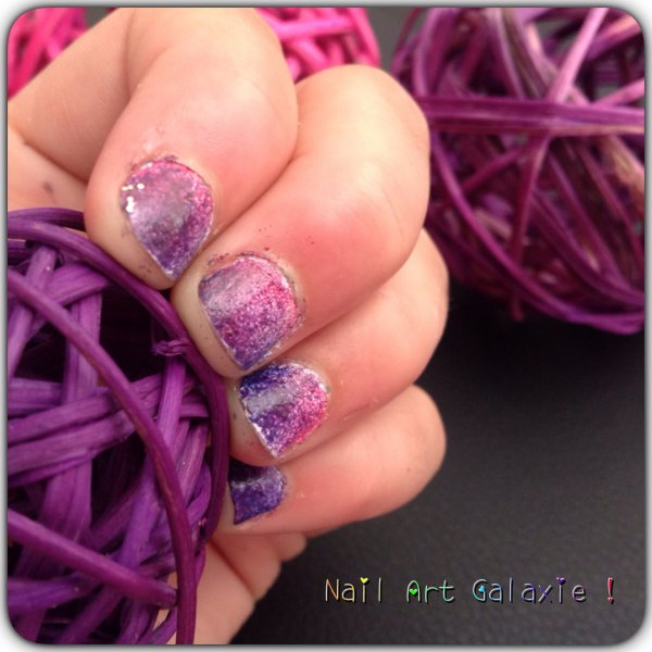 Nail Art Galaxie !