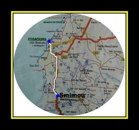 smimou et essaouira 40km