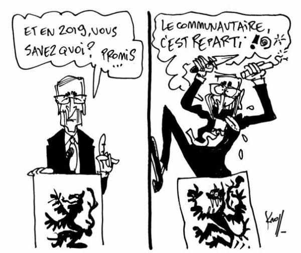 LE GOUVERNEMENT BELGE.