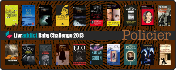 Challenges Livraddict 2013  » Thriller, policier, drame Baby Challenge