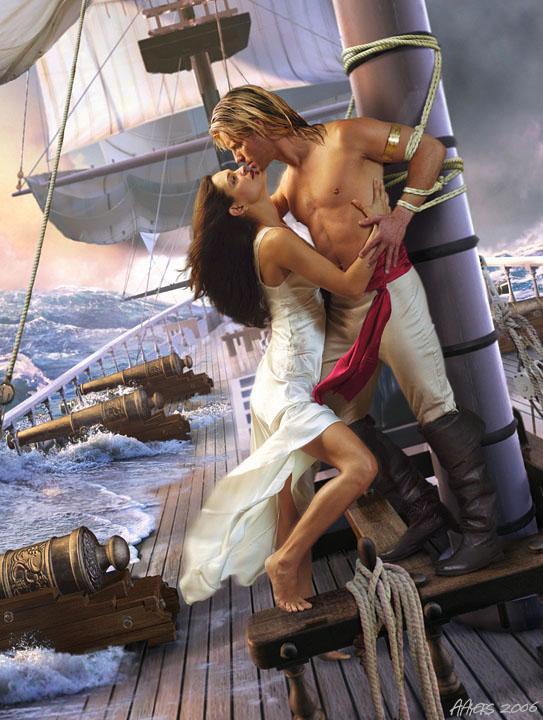 Je vogueurais sur tous les océans s'il le faut !!!Juste pour te dire;NHABEKE...TWAHACHTEKE...Mon amour (l)