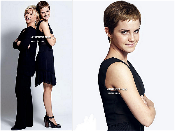. Tout nouveau photoshoot d'Emma en compagnie d'Alberta Ferretti pour leur collection « Pure Threads ! + Emma apparait dans le magasine italien Lo Donna du mois de mars 2011, voici les scans ! .