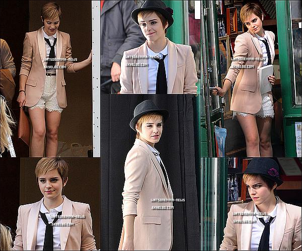 . 14/03/11 : Emma est en ce moment même à Paris sur le shooting de sa marque Lancôme ! Partie 1 .